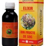 Elixir din fructe de soc