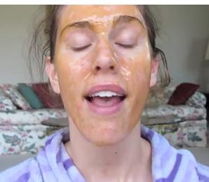 masca-cu-miere