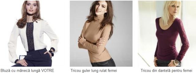 bluze de toamna la 3suisses