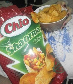 Chio Chips cu Shaorma