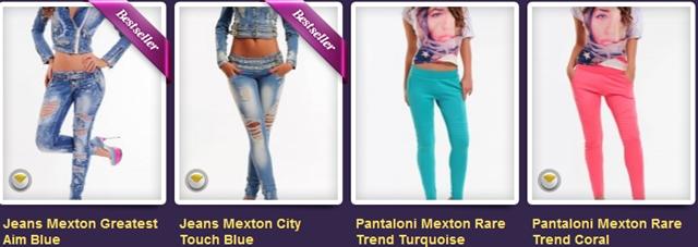 Pantaloni Mexton