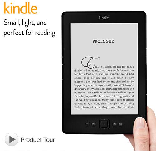 Kindle WI-FI 6″ E-Ink