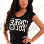 Tricou Negru Mexton