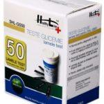 Teste Glicemie Healthy Line SHL-GS50