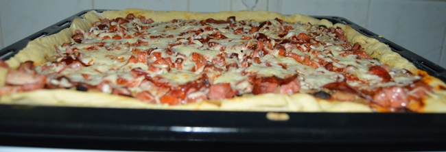 caloriile unei pizza de casa