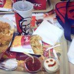 Cate calorii are un meniu KFC?