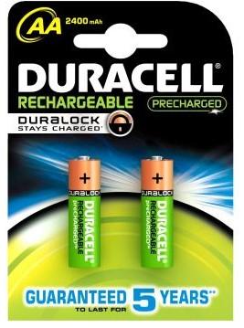 Duracell AAK2, R6, 2400mAh