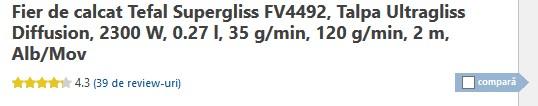 Tefal Supergliss FV4492