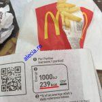 Calorii Cartofi McDonalds
