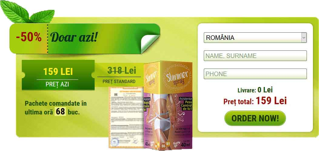 Slimmer Spray - Formular de comanda in Romania