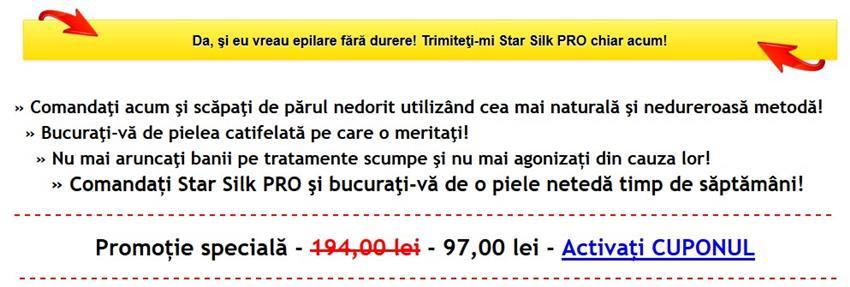 Star Silk PRO Oferta