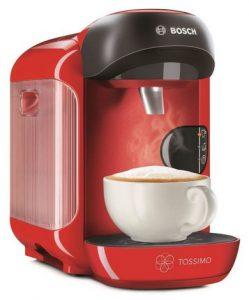 Bosch Tassimo Vivy TAS 1253 preparare cappuccino