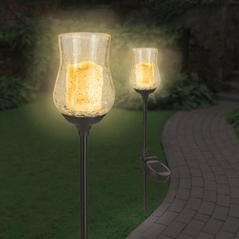 Solar Power Candle Lumanari Solare