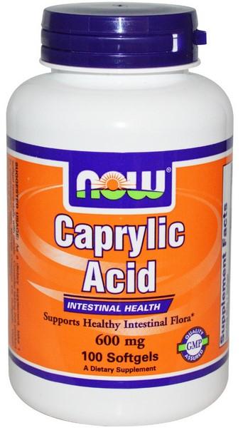 acid caprilic pentru candida