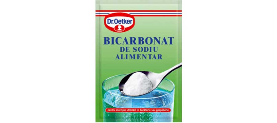 bicarbonat pentru masca