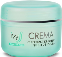 crema cu extract de melc Ivyss farmacii