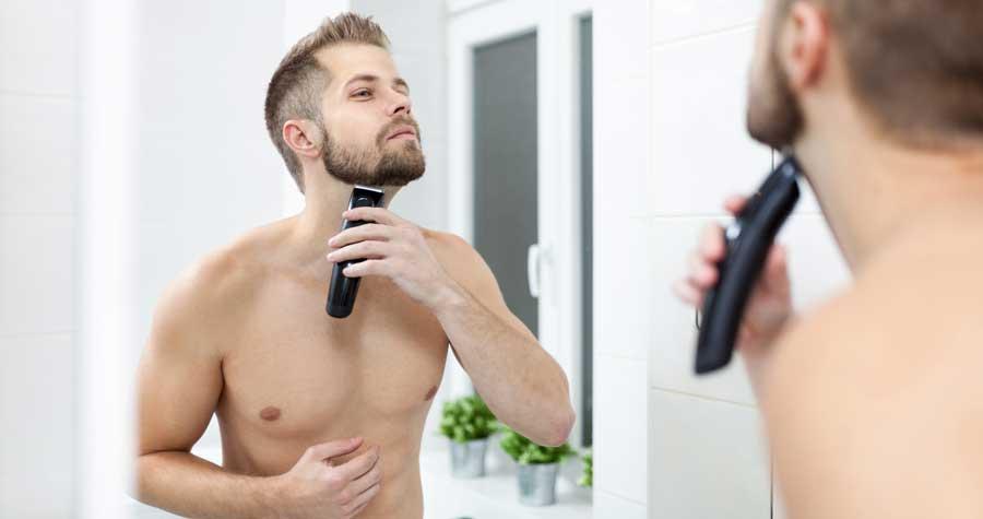 barba-cu-masina-de-tuns