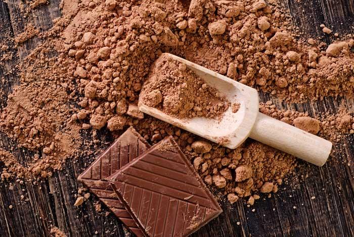 cacaoa contine mult zinc