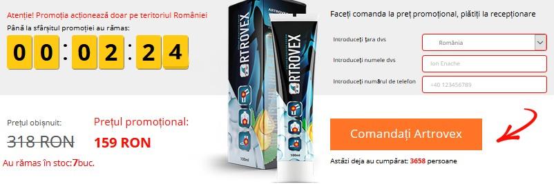 Artrovex Crema Cumpara Online