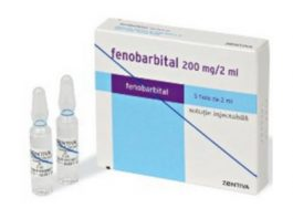 Fenobarbital Fiole