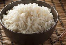 calorii orez fiert